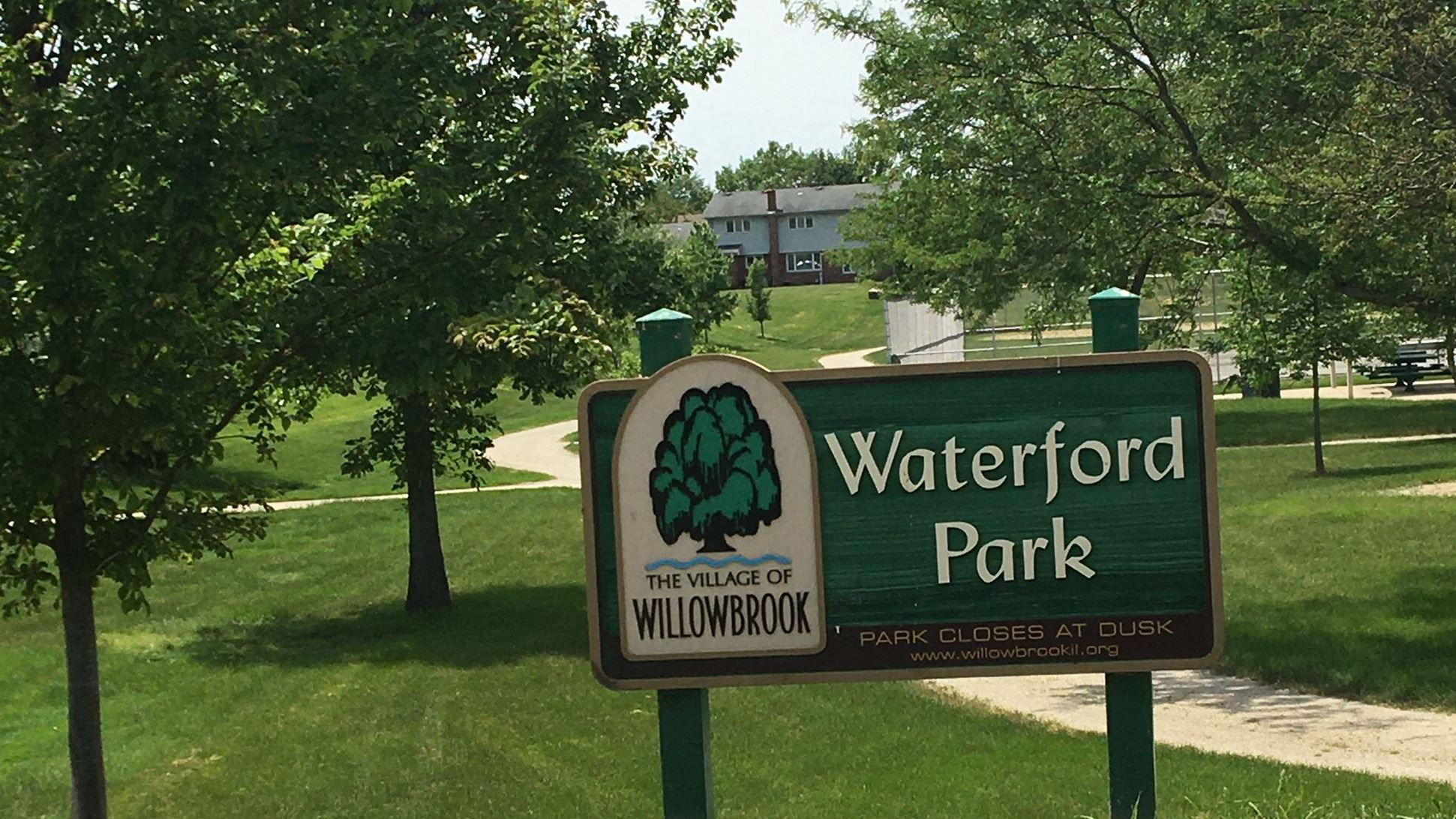 Waterford Park Sign